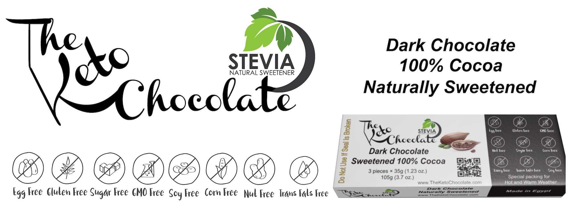 Sweetened 100% Cocoa Chocolate